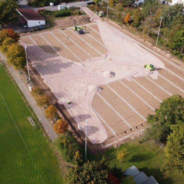Luftbild K-Rasenbau
